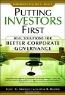 Scott Newquist, Max Russell, John C. Bogle. Putting Investors First: Real Solutions for Better Corporate Governance